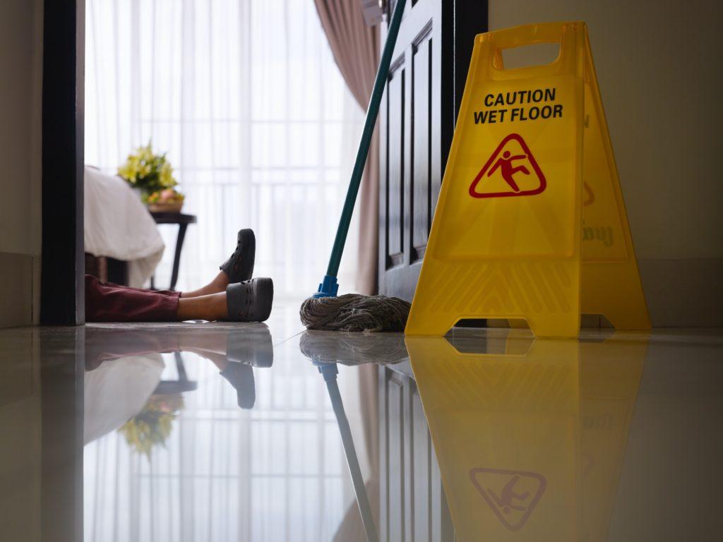 Floor Slip ratings